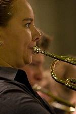 Stefanie Hoving (trompet, bugel, hoorn, euphonium, tuba)